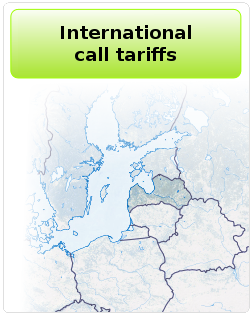 International call tariff