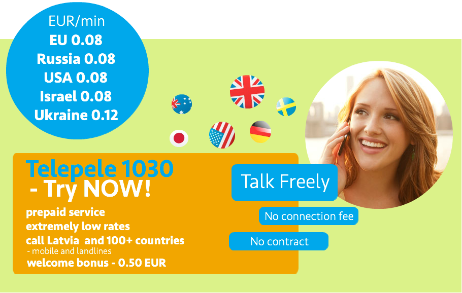 Telepele 1030 call abroad cheaply